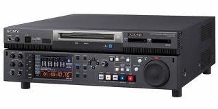Videograbadora XDcam HD / Video recorder XDcam HD.