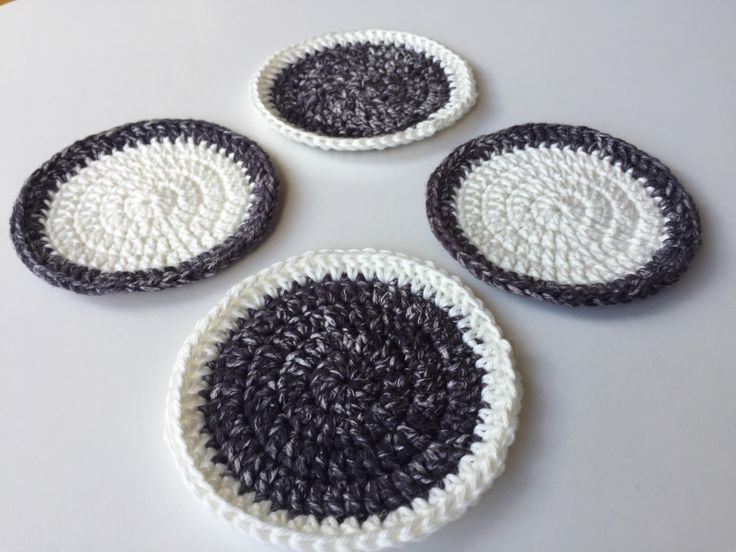 A personal favourite from my Etsy shop https://www.etsy.com/au/listing/474652612/cotton-crochet-coasters-set-of-4