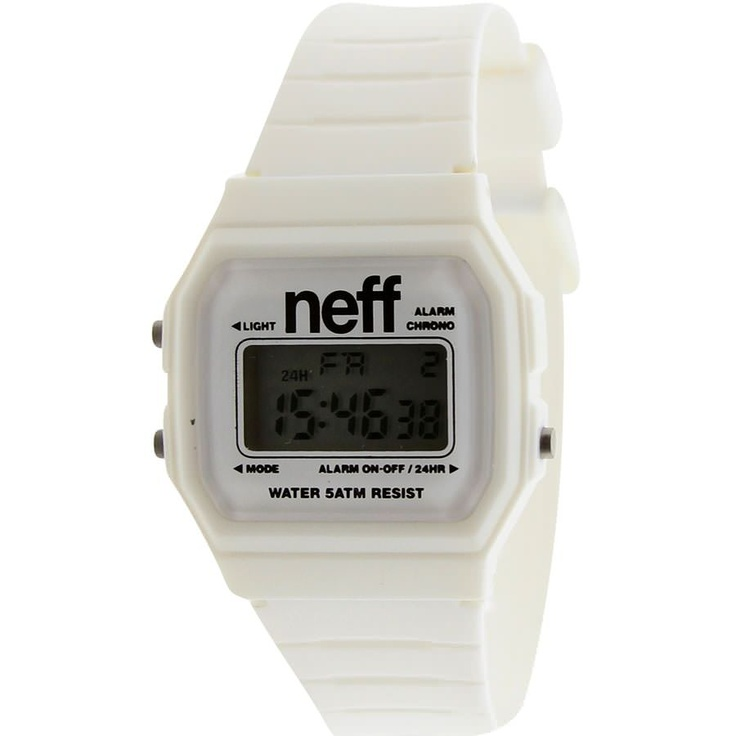 Neff Flava Watch (white)