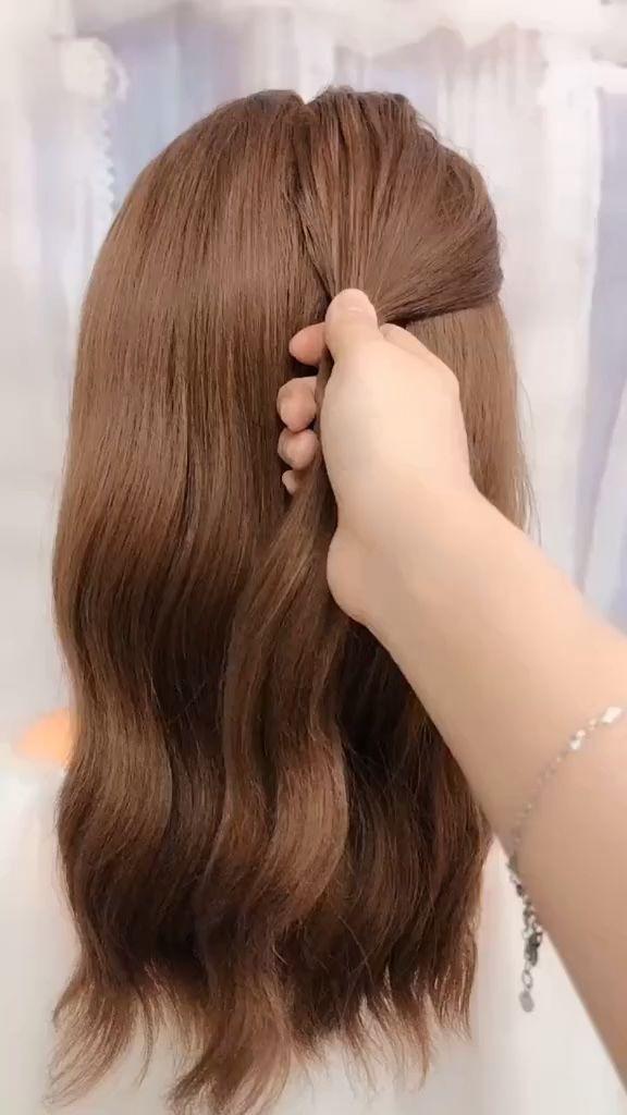 frisuren für lange haare videos | Frisuren Tutorials Zusammenstellung 2019 | Teil 214