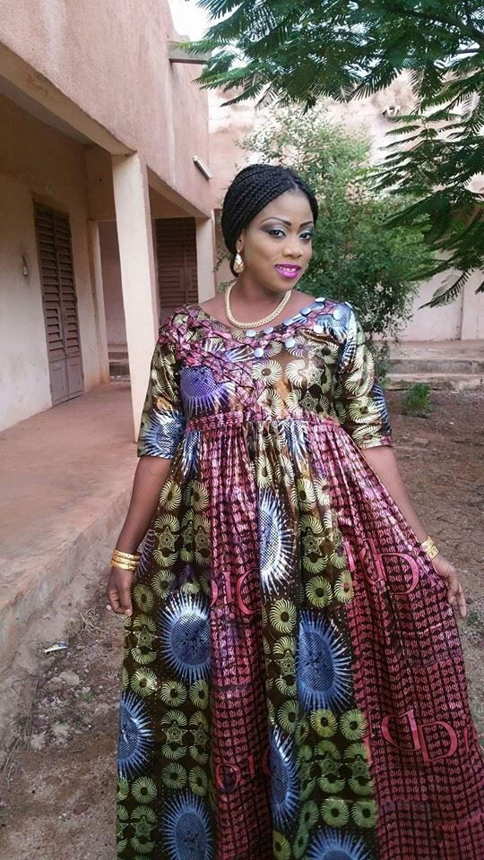 Mode robe taille mame