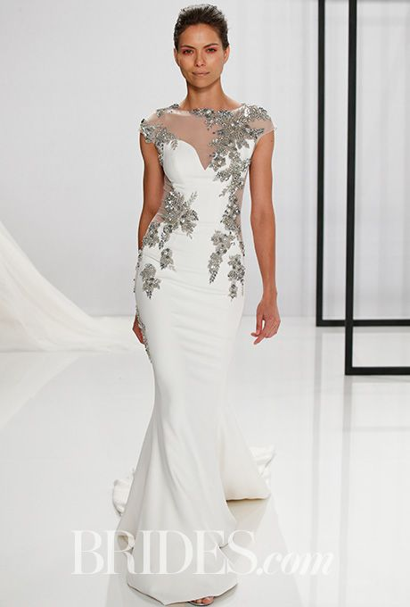 Elegant Brides Mark Zunino for Kleinfeld Wedding Dresses Fall Bridal Fashion Week