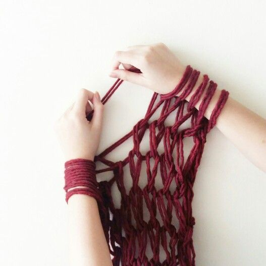 Hand knitting  Instagram @qmjft