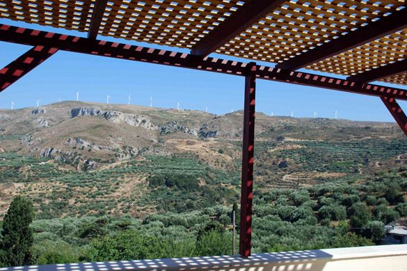 View from our balcony! Houses for sale and rent - Crete Holiday Villas mistsa.com