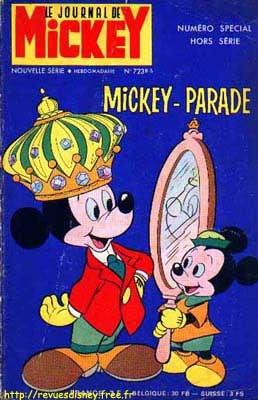 """Un Mickey Parade que je possède toujours. Dedans un épisode étonnant, """"La révolte des ombres""""."""