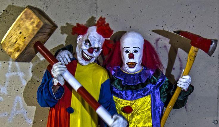 Watch The World's Scariest 'Killer Clowns' Terrorize Las Vegas [Video] .. http://www.inquisitr.com/2429095/watch-the-worlds-scariest-killer-clowns-terrorize-las-vegas-video/