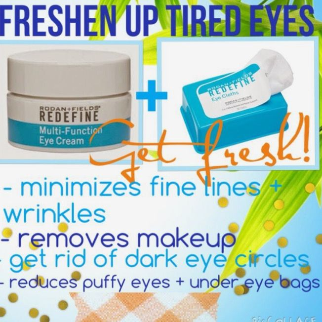 Try this dynamic duo to address tired eyes & puffiness