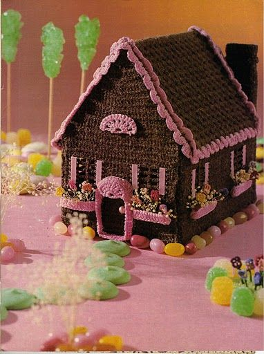 gingerbread house crochet