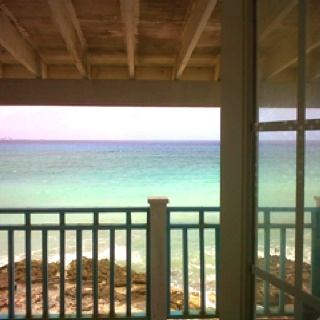 The view out my front door...living in Paradise!