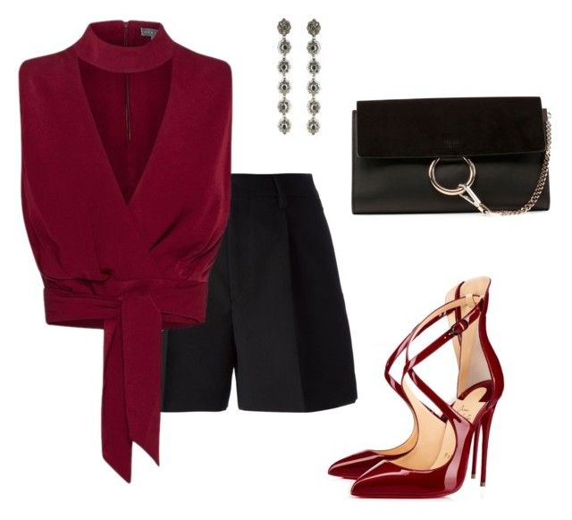Untitled #532 by evasia on Polyvore featuring Columbia, Yves Saint Laurent, Chloé and Gucci