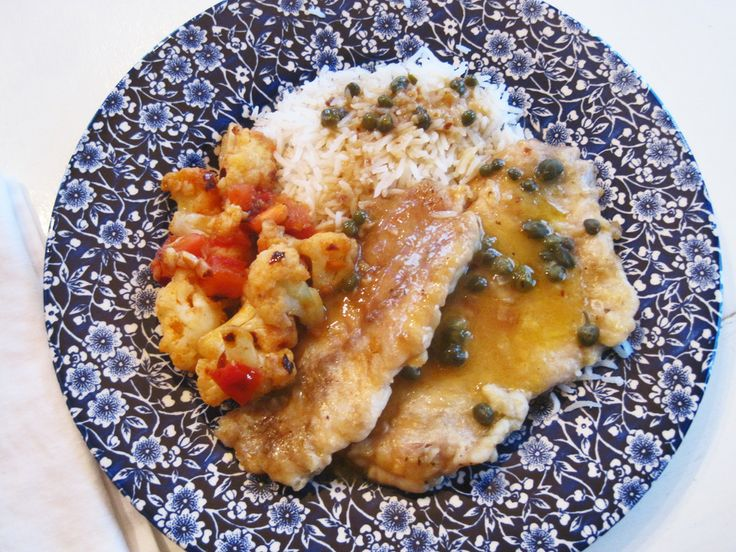 Sole Piccata | Food | Pinterest