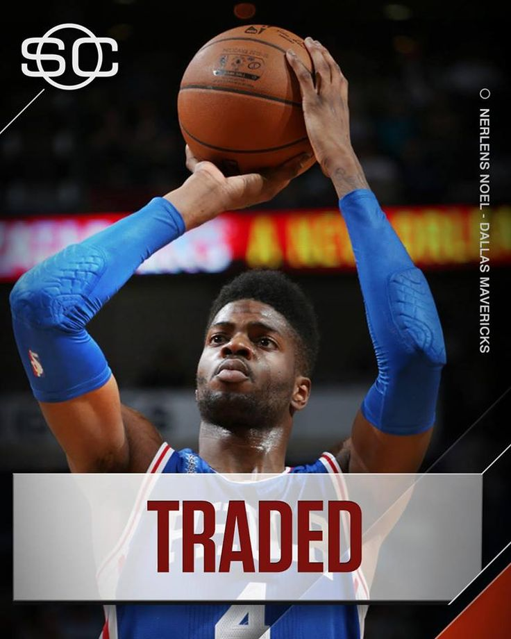 Nerlens Noel will be traded from the Philadelphia 76ers to the Dallas Mavericks for Andrew Bogut, Justin Anderson, and a conditional first-round pick, per Marc Stein.