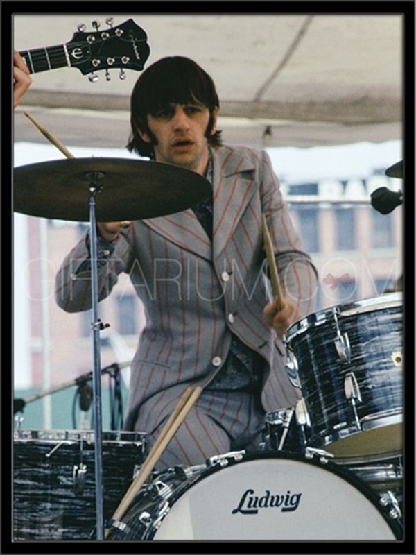 Ringo during the last Beatles No. America tour - summer ...