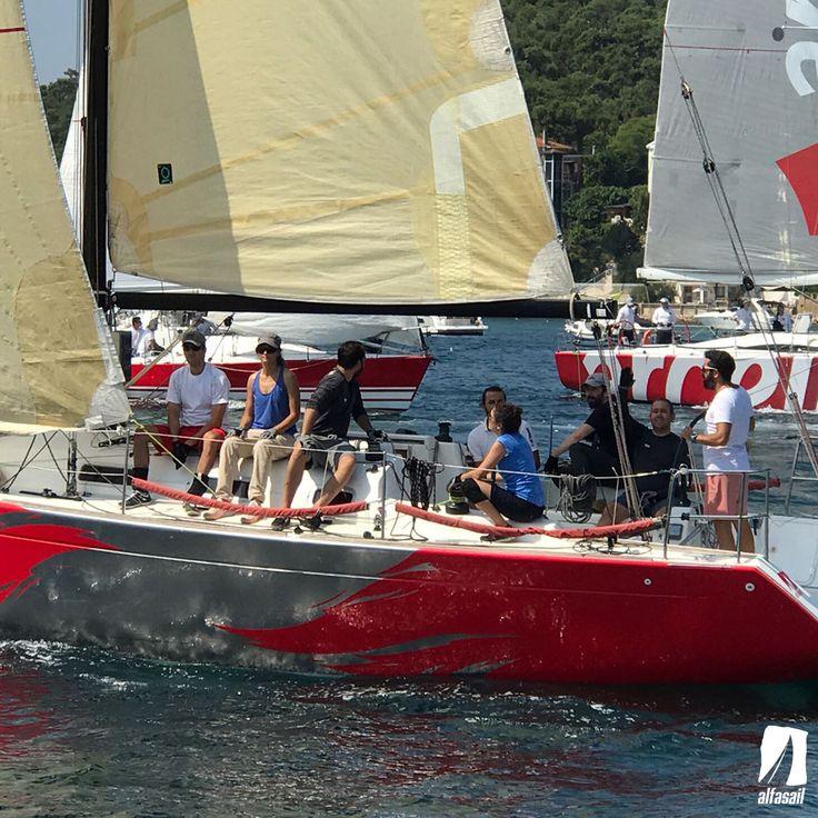 Bu yıl 25. si düzenlenen Tayk Burgaz Ada yarışına 3 takımımız ile birlikte katıldık.
