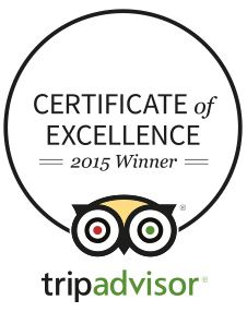 MesaStila is proud to achieve TripAdvisor Certificate of Excellence 2015