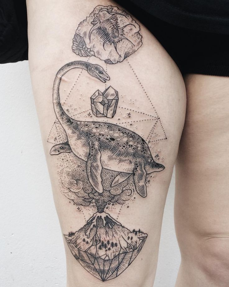 Dinosaur Tattoos Designs Ideas And Meaning: Best 25+ Dinosaur Tattoos Ideas On Pinterest