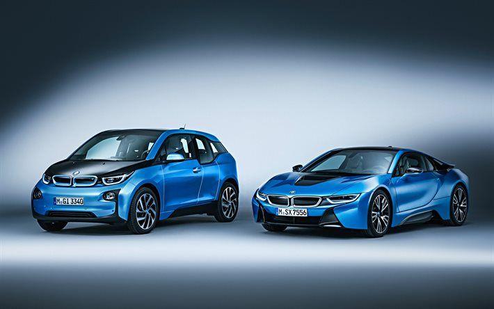 BMW i8, BMW i3, 2017, 2016, BMW electric cars, new cars, future cars, BMW