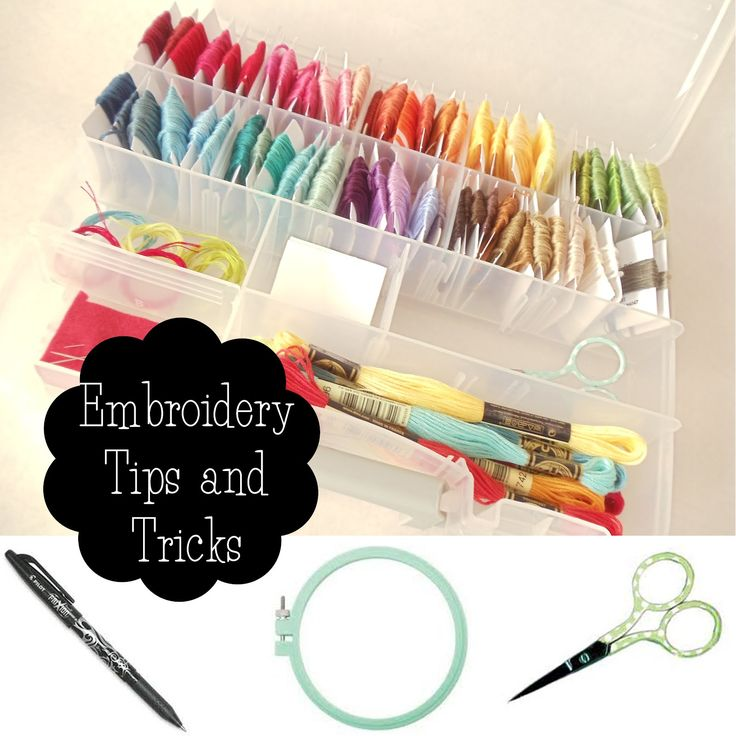 My Cotton Creations: Hand Embroidery Tips