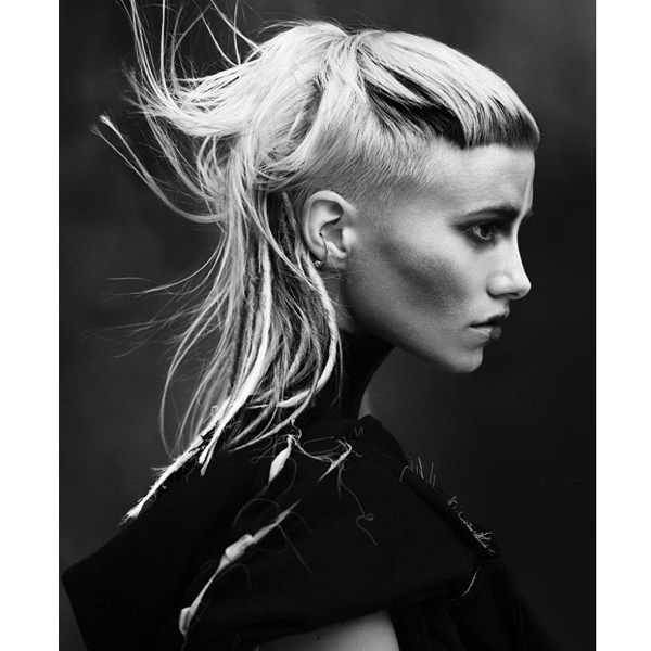 Chic Mullets Behindthechair Com Mullet Hairstyle Short Hair Styles Rocker Hair