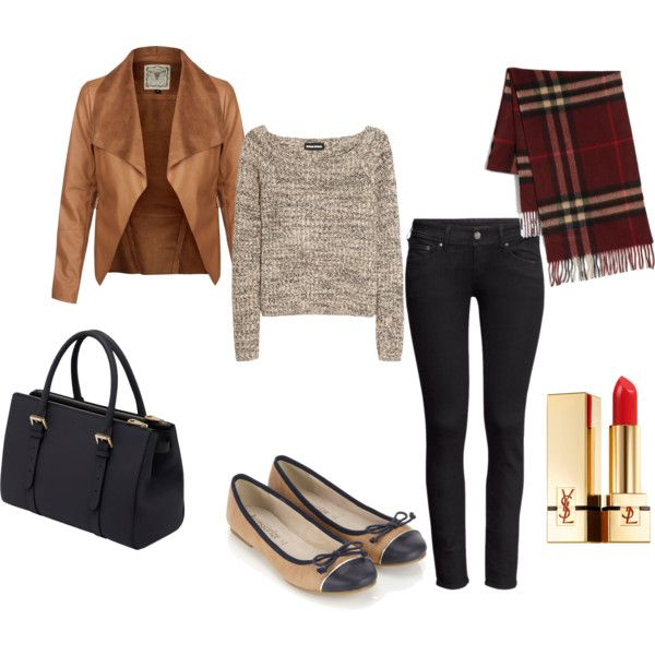 fall by jnsn on Polyvore featuring polyvore, fashion, style, Sonia Rykiel, H&M, Accessorize, Mulberry, Burberry and Yves Saint Laurent