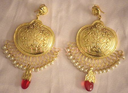 Hand Made Gold Plated Traditional Punjabi Jewellery