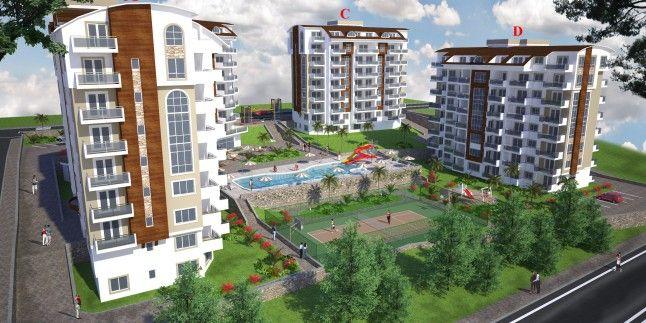 Wohnungen vom Bauträger Alanya Türkei Neubau 2016