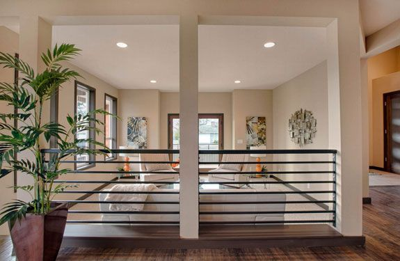 Residential Railing  |   NW Natural Lighting