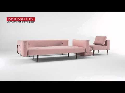 Recast sofa with chair & footstool