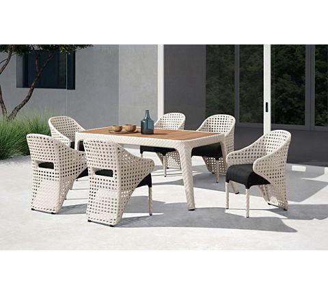 Ideal Rattan Lounge f r den Garten mit grauen Polstern Gartenlounge Hartman Loungeset Springfield u viele