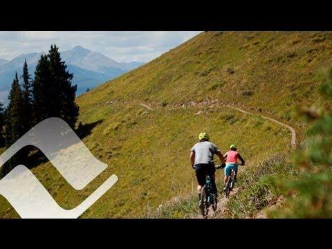 Vail Summer: Mountain biking on Vail Mountain's Grand Traverse trail