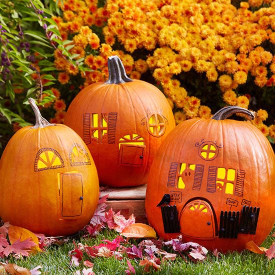 56 best images about pumpkin fairy houses for halloween on for Crazy pumpkin designs