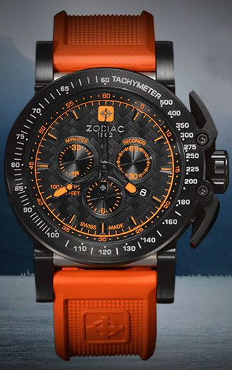 Zodiac zo8535 watch the coolest watches from watchismo for Watchismo