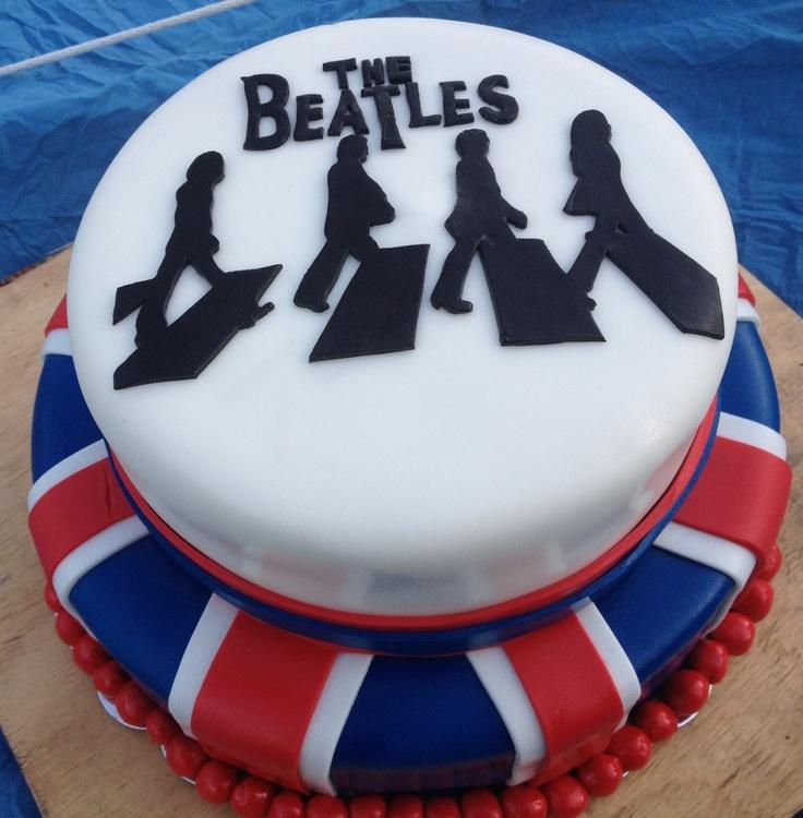 Beatles Abbey Road Cake.