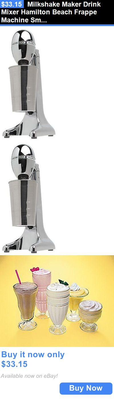 hamilton frappe machine