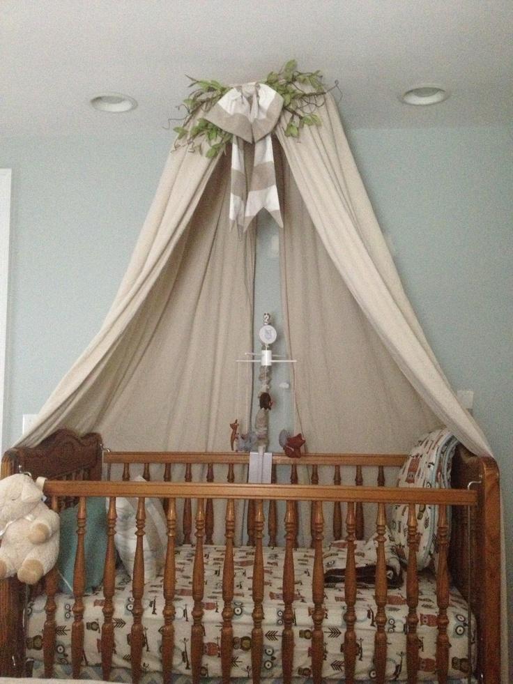 DIY Crib Canopy Courtneydonnelly