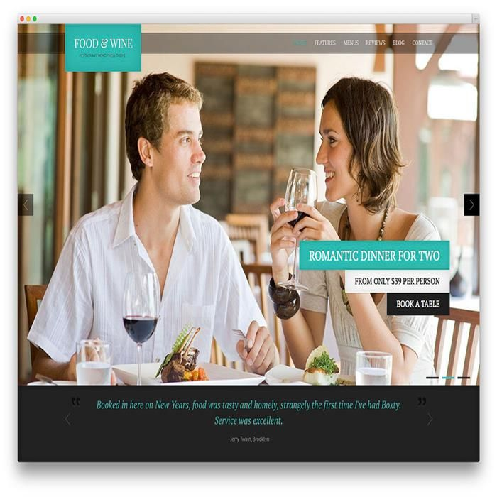 food-wine-restaurant-wordpress-theme-template