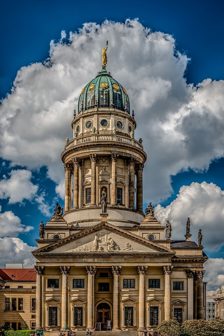 ღღ The French Cathedral in Berlin on Gendarmenmakt by Frank Haase