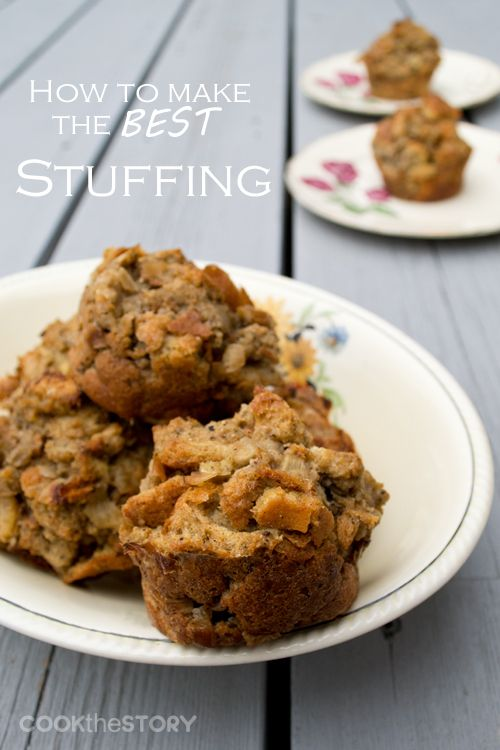 Stuffing Recipe and Tutorial for How To Make the Best Stuffing