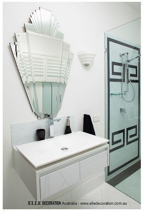 Photos On How to Create an Art Deco Contemporary Bathroom