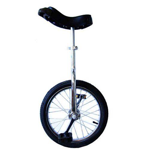 Monocycle PassePasse luxe design 16 pouces (40cm) Vélo une roue. Recommandé pour 7 à10 ans.: Facile à utiliser - roulez en quelques heures…