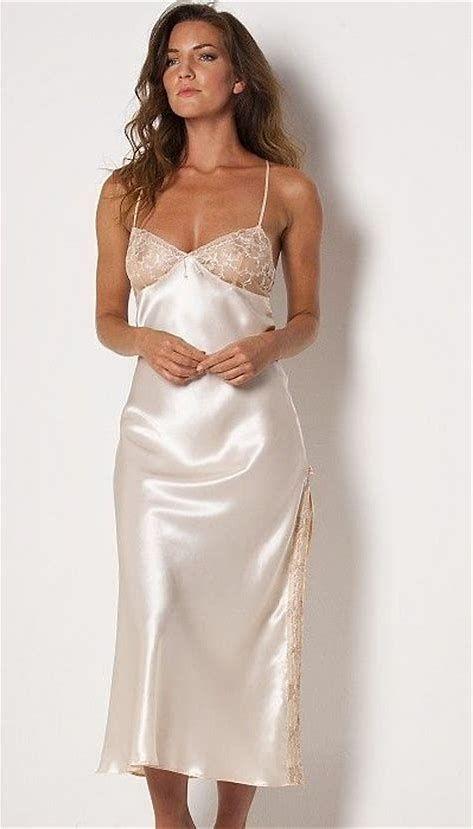 5f608ec06e0 Afbeeldingsresultaten voor long nightgown satin