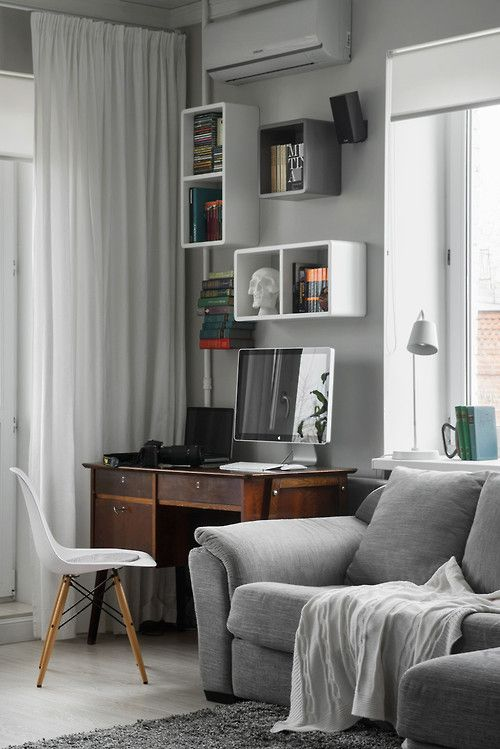 Cheap Sectional Sofas Workspace within a Moscow bachelor pad Killer