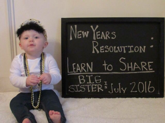 Best 25 Baby 2 announcement ideas – New Years Birth Announcement
