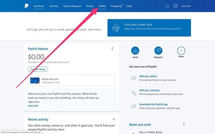 How to transfer visa gift card balance to paypal wallet