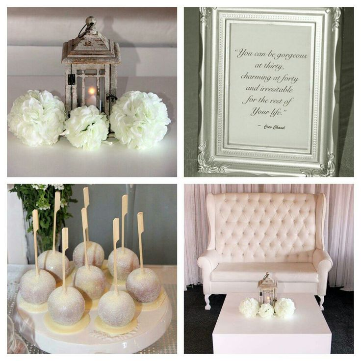 An all white event. Fabulous and Sophisticated