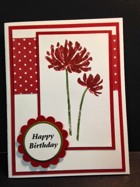 Too Kind, Birthday Card, Stampin' Up!, Rubber Stamping, Handmade Cards, Stamp a Stack idea
