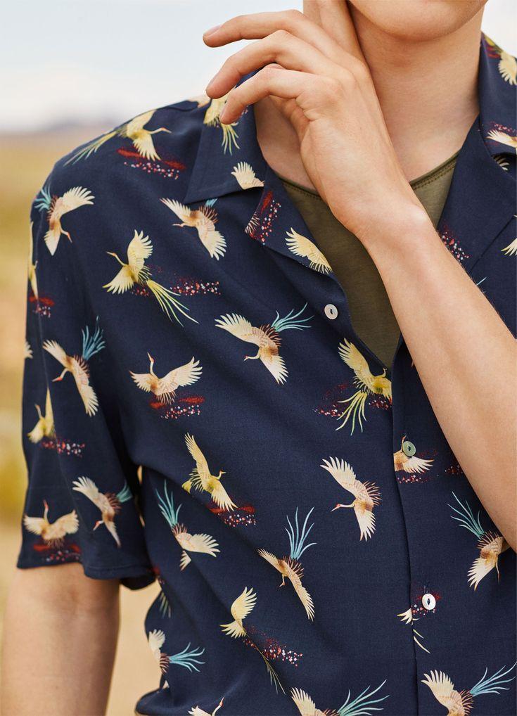Camisa y camiseta ZARA - #zaraeditorials - MAN / ALMOST SUMMER