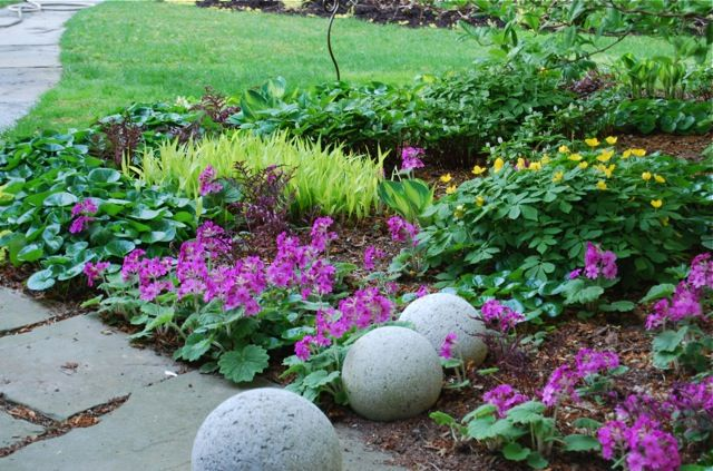 shade garden (spring)