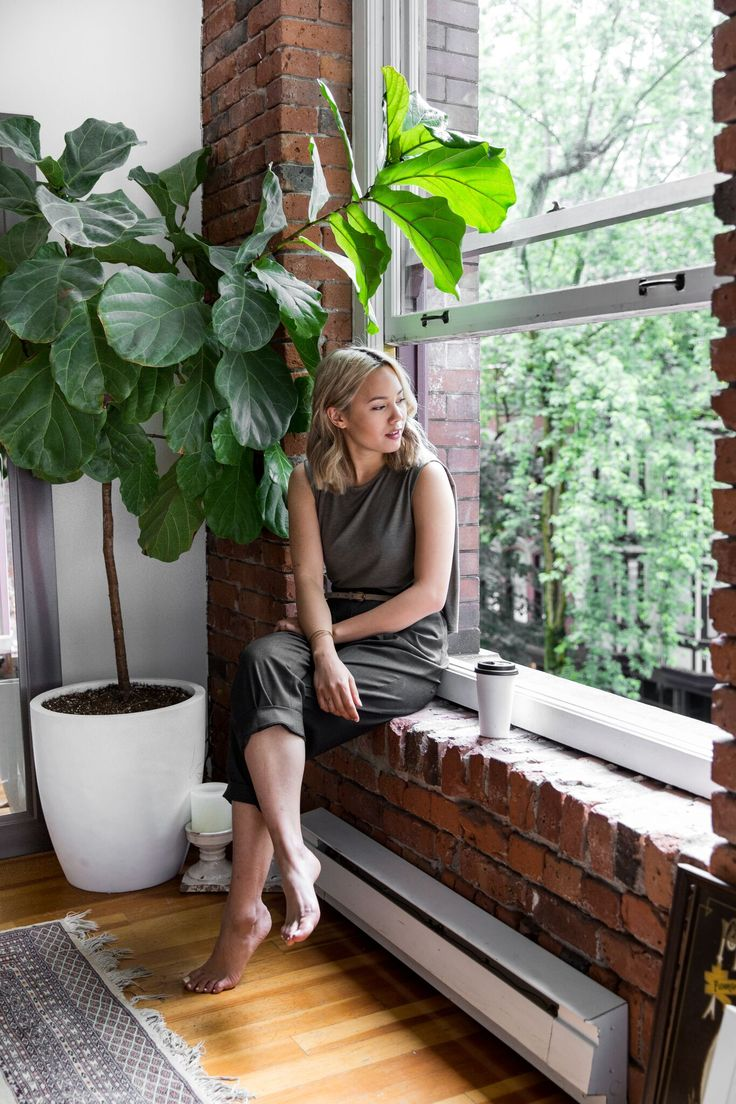 A quiet moment at home in Gastown with our latest Kit, Gaby Bayona. | Kit and Ace