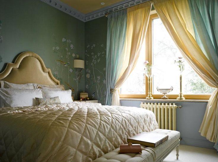 желтые стены в спальне - Поиск в Google
